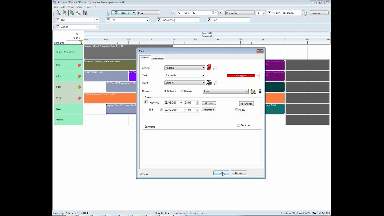 Garage planning software english youtube for Garage planning software
