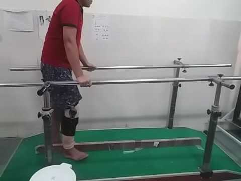 Department of physiotherapy AIIMS Patna..after ACL reconstruction surgry.POD48