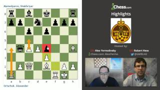 FIDE Grand Prix Tbilisi: GMs Hess and Yermolinsky!