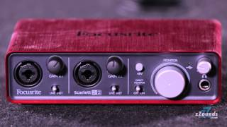 zzounds com focusrite scarlett 2i2 usb audio interface