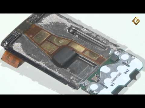 Ремонт Nokia 6600 Slide - замена межплатного шлейфа