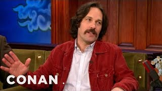 """Paul Rudd's EXCLUSIVE """"Anchorman 2"""" Clip - CONAN on TBS"""