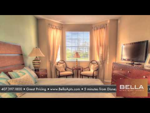 bella apartments kissimmee florida apartments - youtube