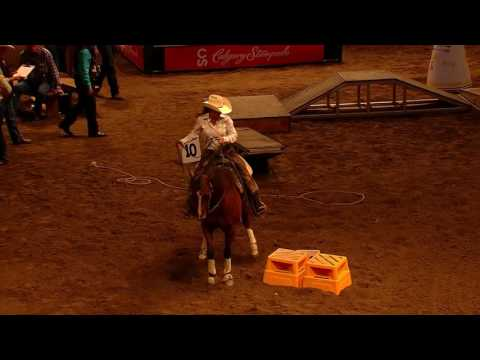 2017 Calgary Stampede Cowboy Up Challenge - Second Go Winner - Annie Chance