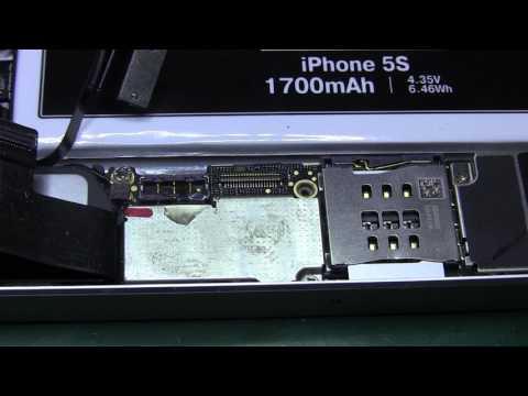 iPhone 5s после замены дисплея неправильная индикация зарядки и не работает датчик приближения