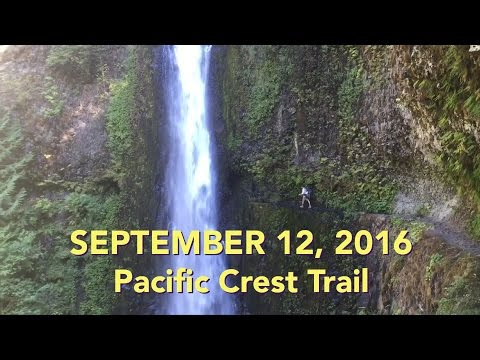 Pacific Crest Trail - Biggest Waterfalls On Trail - EP21