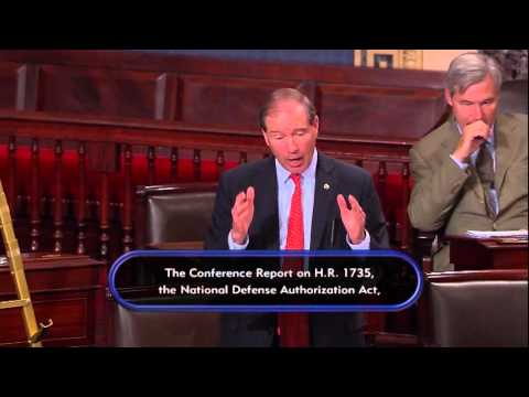 Tom Leads Speeches on the Senate Floor Urging Passage of his Chemical Safety Bill to Reform TSCA