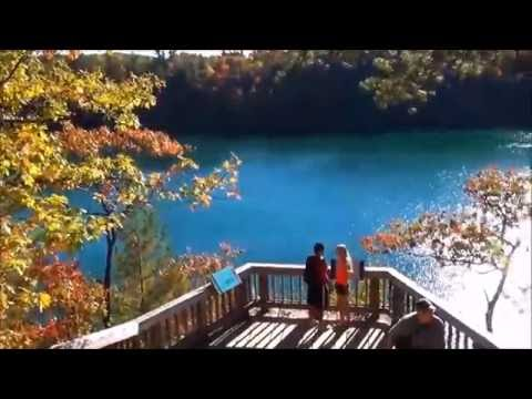 Beautiful Fall Colors near Pink Lake, Gatineau Park, Quebec HD