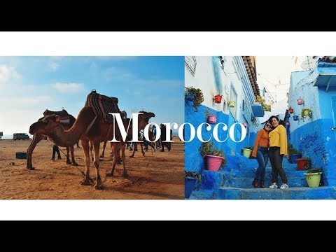 MOROCCO in 3 days! Tangier, Chefchaouen and Asilah // study abroad