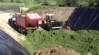Silage 2013. Moorehouse Brothers at the grass