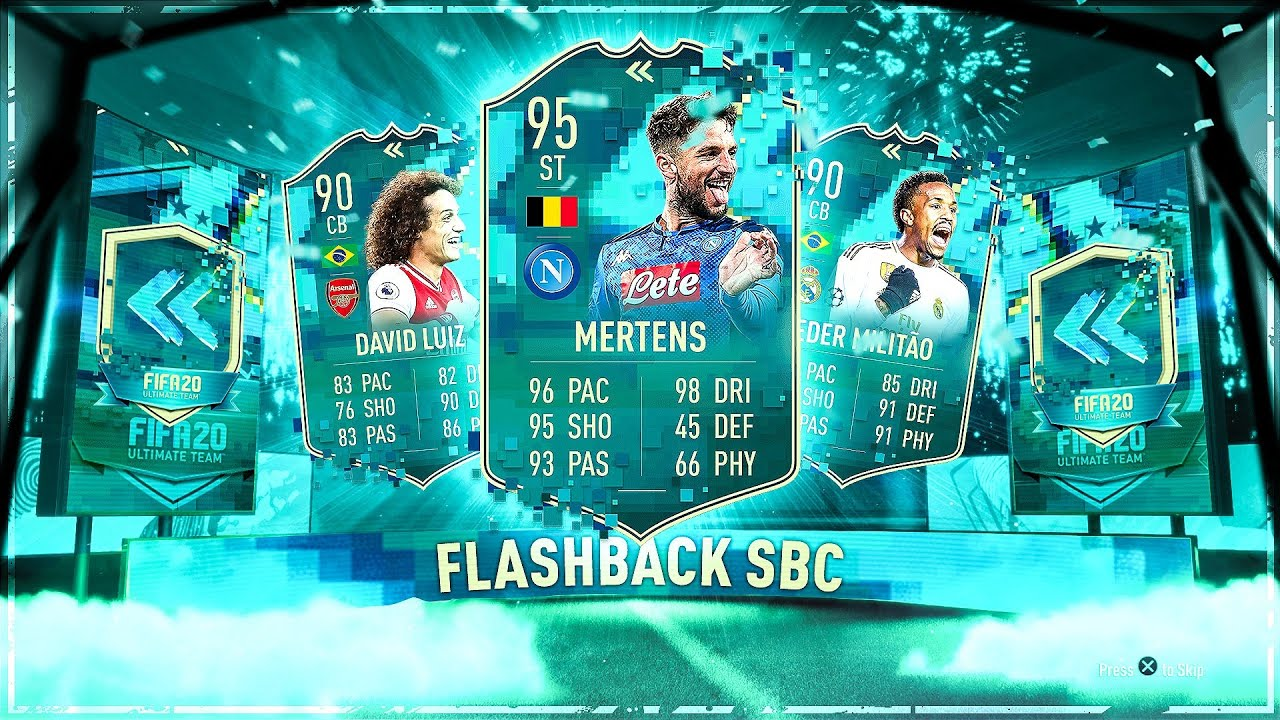 25X GUARANTEED FLASHBACK PLAYER PACKS! #FIFA20 ULTIMATE TEAM