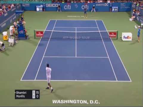 Bhambri   Monfils ATP Washington live stream youtube