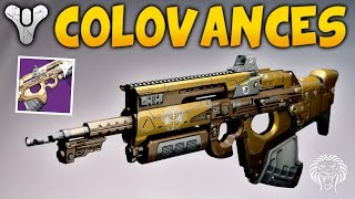Destiny: BEST LONG RANGE WEAPON! Colovances Duty Scout Rifle Review (Crucible Live Gameplay)