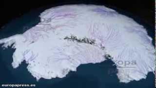 ¿Cómo sería la Antártida sin hielo?