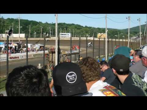 Lebanon Valley Speedway - July 30, 2017 - Sprint Car Time Trials and Heats