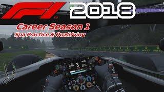 F1 2018 Career S1 - Spa Pre-Race