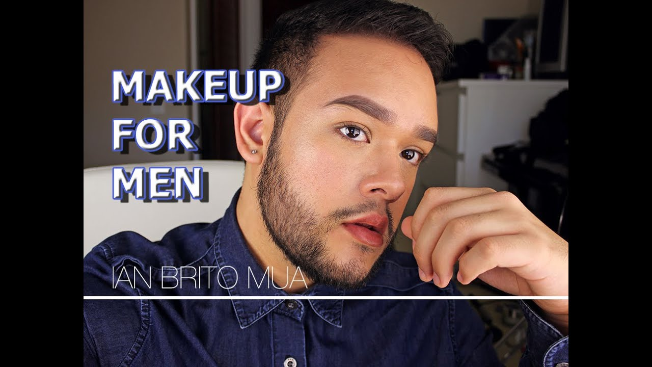 how to use makeup for men