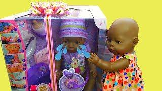 Кукла Беби плачет. Новая кукла Беби Бон ИЩЕТ ХОЗЯЙКУ! Беби Борн Мулатка и КОНКУРС на куклы Baby Born