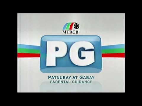 "MTRCB PG Rating Filipino Version ""Parental Guidance"""
