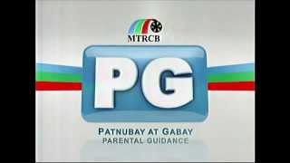 "MTRCB PG Rating Filipino Version ""Parental Guidance"""