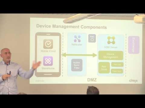 CitrixDay 2013: Citrix Enterprise Mobility -- XenMobile