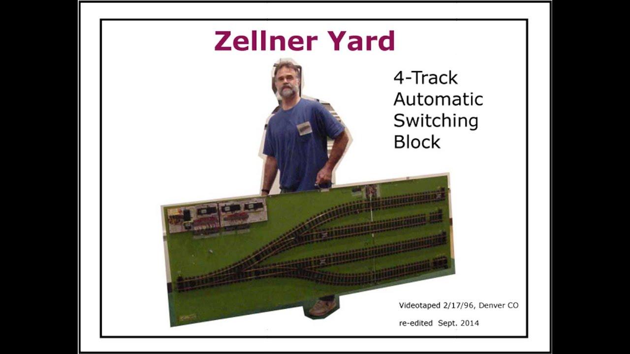 aco9606 4 track automatic zellner yard controls 5 lgb model trains on 1 mainline autocontrols org [ 1280 x 720 Pixel ]