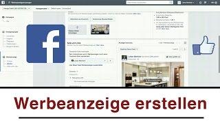 Facebook Werbeanzeige erstellen (deutsch) - Tutorial um Werbung zu schalten