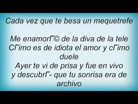 Ricardo Arjona - Amor De Tele Lyrics