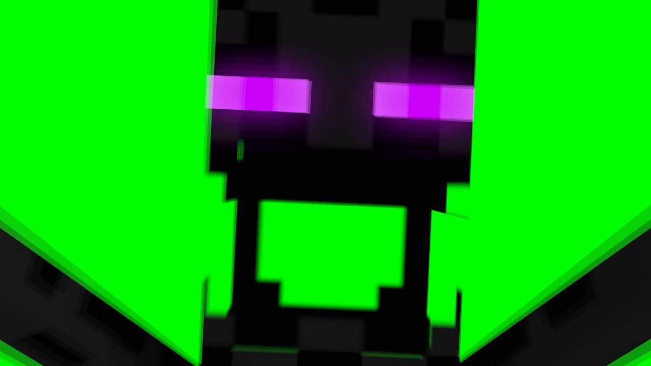 Free Enderman Scare green screen