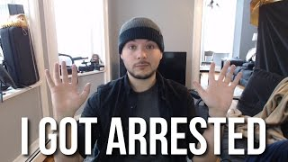 I GOT ARRESTED AT THE INAUGURATION PROTESTS AND RIOTING