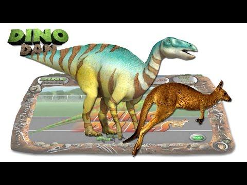 DINO DAN : DINO DUELS #26 -  Edmontosaurus VS Kangaroo  @ Make For Kids