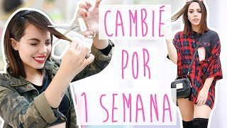ME ARRIESGUÉ CON MI LOOK POR 7 DÍAS Y ESTO PASÓ! | What The Chic