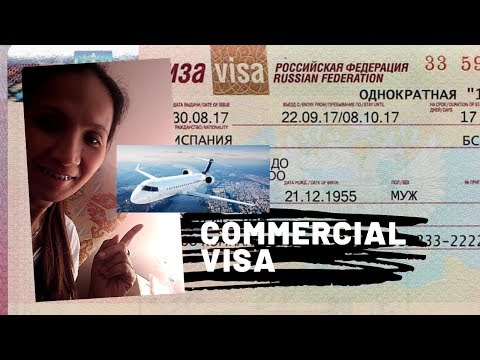 Commercial /Business Visa For Filipino's(Russia)