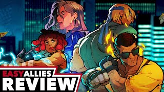 Streets of Rage 4 - Easy Allies Review (Video Game Video Review)