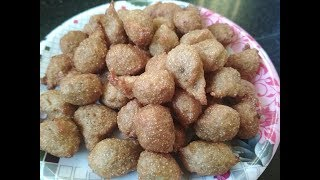 Gulgula Recipe | Indian Mini Donut Step By Step