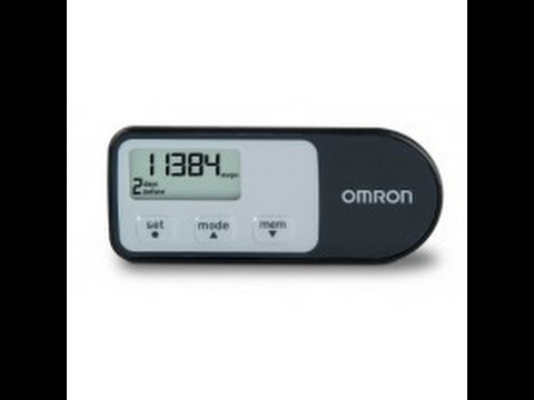 Omron HJ-320 Tri-Axis Walking Pedometer Free Shipping