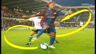 Ronaldinho The Most Smart \u0026 Creative Plays