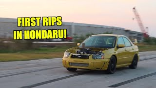 Honda Powered STI Is Finally Ripping Again! [Hondaru]