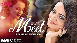 Aditi Singh Sharma: Meet (Video Song) | Simran | Kangana Ranaut