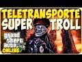 TRUCOS GTA 5 ONLINE - TELETRANSPORTE SUPER TROLL - GTA 5 PS4, PC Y XBOX ONE