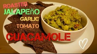 Roasted Jalapeno, Garlic, Tomato Guacamole
