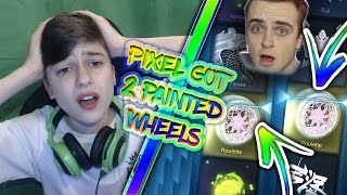 PICKAPIXEL THRASHED ME | *CONSOLE VS CONSOLE CRATE WAR* | HE PRANKED ME | (Rocket League)