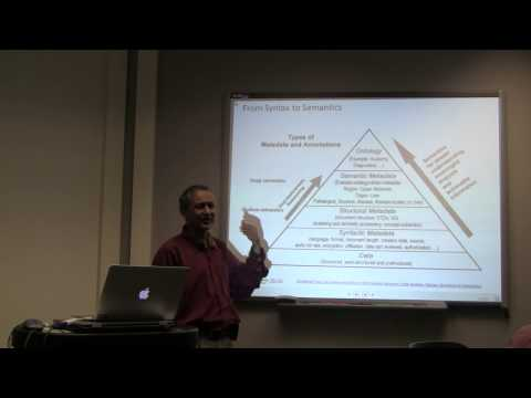 Web 3.0 - Fall 2014, Class 2 (08/28/2014 ) on Semantic Web: Introduction/overview by Dr. Amit Sheth
