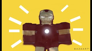 Ironman simulator ROBLOX ((how to play on both mobile and computer))