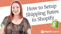 Shopify Shipping Settings 2020