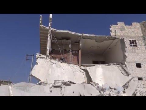 Rus uçakları Halep'te ateşkesi ihlal...