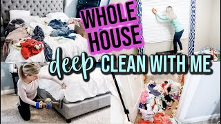 *SATISFYING* WHOLE HOUSE DEEP CLEAN WITH ME 2019 | WHOLE HOUSE CLEANING MOTIVATION | SPEED CLEANING Video