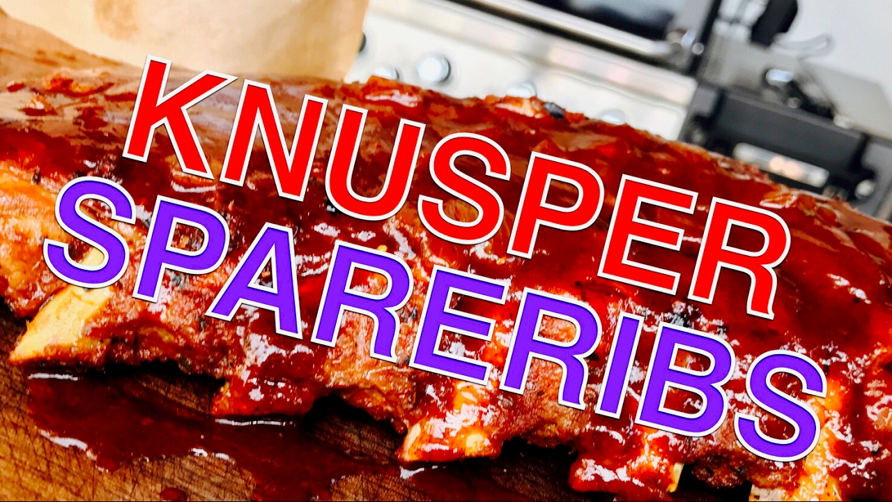 Spareribs Gasgrill Broil King : Steamed ribs knusprige spareribs vom grill klaus grillt youtube
