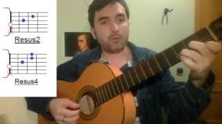 Acordes sus2 y sus4 - Three little birds (Bob Marley) - TUTORIAL
