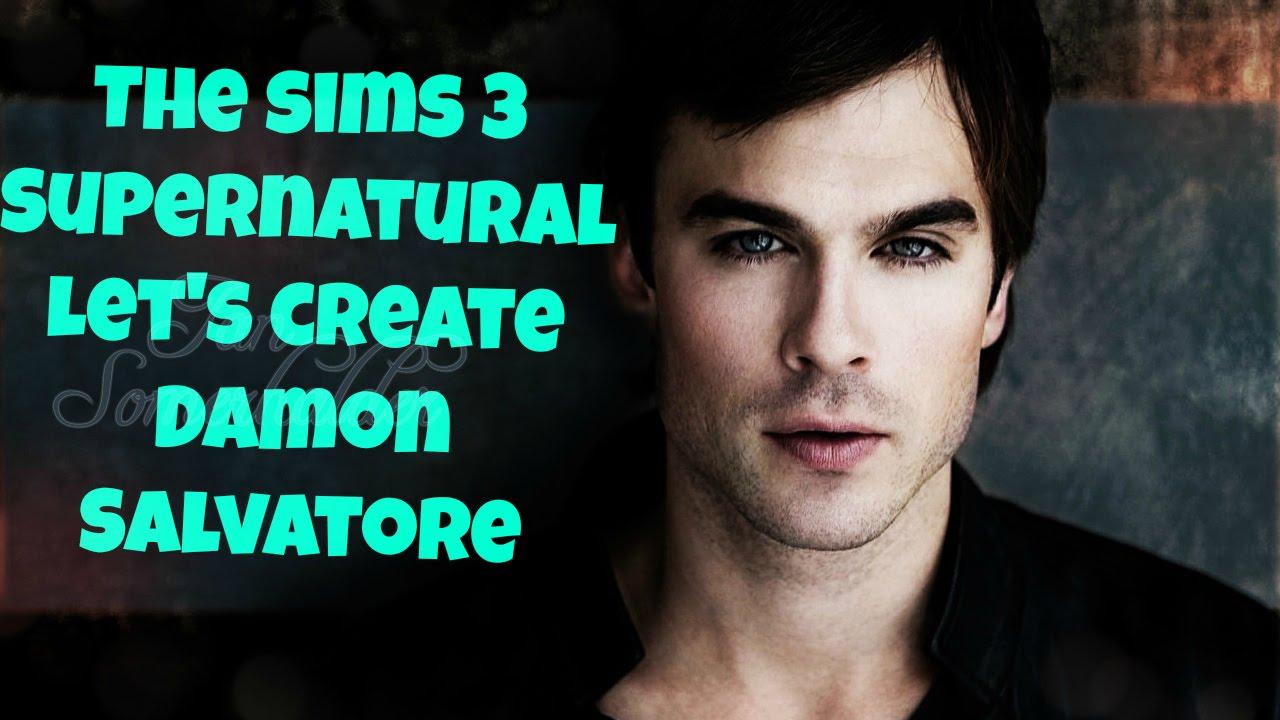 the sims 3 supernatural let s create damon salvatore the vampire